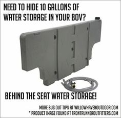 10 gallon behind seat water tank Great way to transport liquid in your BOV Truck Camping, Camping Survival, Survival Prepping, Survival Skills, Survival Gear, Doomsday Prepping, Jeep Mods, Truck Mods, Montero Sport