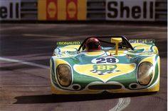 24 heures du Mans 1971 - Porsche 908 #28- Pilotes : Claude Ballot-Léna / Guy Chasseuil - Abandon                                                                                                                                                      Plus
