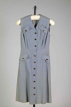 Bonnie Cashin  Dress | American 1941  Cotton