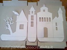 haunted house cereal box DIY free template