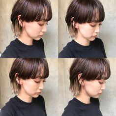 49 New Ideas For Fashion Design Hair Beautiful Mullet Hairstyle, My Hairstyle, Cool Short Hairstyles, Hairstyles Haircuts, Girl Short Hair, Short Hair Cuts, Hair Inspo, Hair Inspiration, Medium Hair Styles