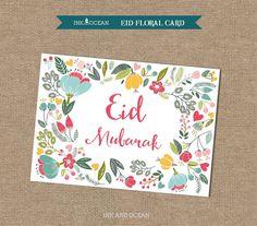 Carte Eid Mubarak, Eid Mubarak Card, Eid Hampers, Ied Mubarak, Eid Party, Eid Greetings, Islamic Gifts, Islamic Art, Card Creator