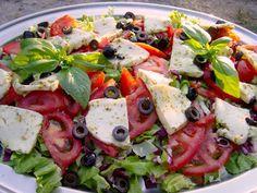 Schlagzeug Seminar - Toskana Caprese Salad, Food, Percussion, Tuscany, Essen, Meals, Yemek, Insalata Caprese, Eten
