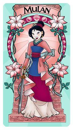Paola Tosca - Disney Mulan - New Ideas Disney Fan Art, Disney Pixar, Disney E Dreamworks, Film Disney, Disney Diy, Cute Disney, Disney Cartoons, Disney Movies, Disney Cats