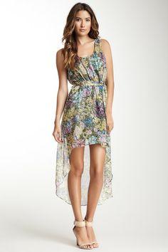 Belted Print Dress / Love Stitch Blowout on HauteLook