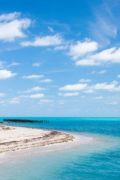 ✯ 70 miles west of Key West, Dry Tortugas National Park is only accessible via ferry