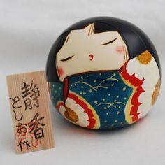 Japanese-Kokeshi-Doll-Authentic-Handmade-in-Japan-Shizuka-Calm