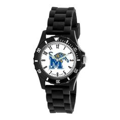 Game Time Kids' COL-WIL-MEM Wildcat College Series University of Memphis 3-Hand Analog Watch | Your #1 Source for Watches and Accessories