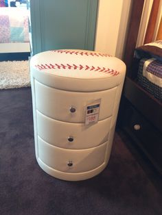 Toddler Boys Baseball Bedroom Ideas baseball dresser | craft ideas | pinterest | baseball dresser