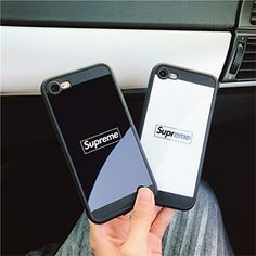 ブランド シュプリーム supreme iPhone7ケース 鏡面 iphone7plusケース シリコン iphone6s plusケース ペア カップル用iphone8ケース予約 芸能人愛用