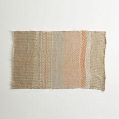 Hand-Woven Floor Mat