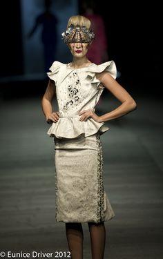 AFI SA 2012 – Gavin Rajah South African Fashion, High Fashion, Peplum Dress, Beauty, Dresses, Vestidos, Couture, High Fashion Photography, Dress