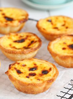 my bare cupboard: Portuguese Egg Tarts Recipe