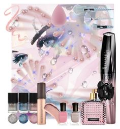 """Pastel Playtime"" by mystic2awesome ❤ liked on Polyvore featuring beauty, Rimmel, Victoria's Secret, Unicorn Lashes, Burberry and Deborah Lippmann"