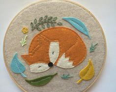 Embroidery Hoop Art Wall Art Nursery Room Decor kids by nolaandvi
