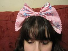 Bow from waist-ties tutorial