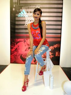 Zendaya Coleman attends the adidas Unveils The adigirl Collection on July 22, 2015 in New York City.