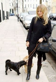 Sienna Miller | Dog Love