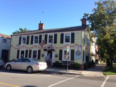 Old Angel Inn at Niagara on the Lake, great place!