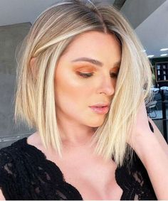 Hottest Lob Hairstyles 2020 for Girls and Women To Fuel Your Style Addiction French Braid Hairstyles, Great Hairstyles, Lob Hairstyles, Popular Hairstyles, Latest Hairstyles, Short Hairstyles For Women, Bob Haircuts, Chic Haircut, Fresh Hair