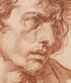 themorgan     Greuze, Jean-Baptiste, 1725-1805.      *Biographical Data:  Tournus 1725-1805 Paris    *Title:   Head of a Young Man [dr...