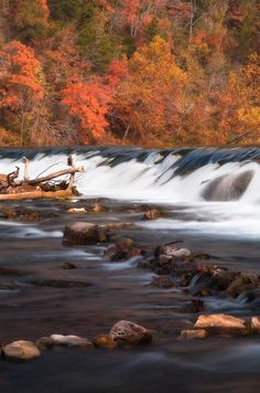 North Fork River Dam at Dawt Mill, Missouri