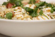 Zeeduivel is een stevige vis met smakelijk wit vlees. Je kan de vis gemakkelijk grillen. Jeroen gebruikt dikke lapjes visfilet die na een korte grillbeurt op de tafel komen bovenop een pastaschotel met penne en Spaanse chorizo in een romige saus op basis van ricotta.