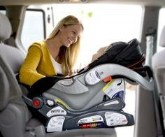 Baby Trend Inertia Car Seat can be installed in 2 steps! So easy!