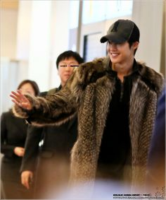 Kim Hyun Joong's 김현중 Arrival at Haneda Airport for UNLIMITED