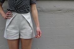 View B -Tap Shorts Pattern
