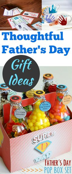 Thoughtful Father's Day Gift Ideas.. Cute ideas to tell Dad how much you love him.  Great Father's Day gift ideas from the kids, too..