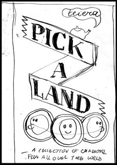 #BOOKS #ILLUSTRATION #DIY #GAMES - Work in progress, the cover layout by Sarah Mazzetti. PICK A LAND by TEIERA. We are Teiera, a self-publishing label formed by Cristina Spanò, Giulia Sagramola and Sarah Mazzetti. We would like to release Pick-a-land, a stackable book created with the aim to make children and adults play with the illustrations and with the book as an object.   +INFO: www.teiera.net  verkami CAMPAIGN www.verkami.com/projects/2104