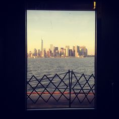 #iloveny #nyc #newyork #window #myview #statenislandferry #InstagramNYC