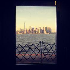 #iloveny #nyc #newyork #window #myview #statenislandferry #InstagramNYC