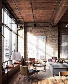 """958 Likes, 6 Comments - G Ξ N T L Ξ M Λ N M O D Ξ R N™ (@gentlemanmodern) on Instagram: """"Industrial  Loft The Hewington Hotel  a century-old warehouse that's been renovated into an upscale…"""""""