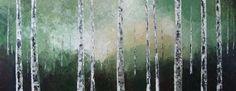 Birch tree painting - Sierra Briggs