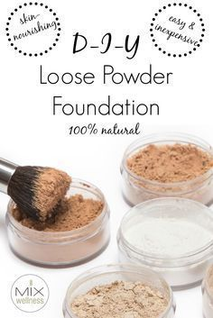 how to make foundation powder at home