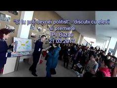 NEWS BUZAU -  Discutii si premiere elevi - IPJ Buzau - 21 03 2017