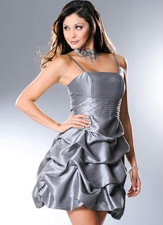 Vestido Cinza-Prata - Posthaus $89,99