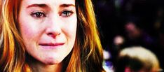 Shaliene Woodley as Danielle Rose crying