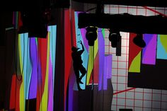 Photographer Ryan Lash captures a dramatic moment on the light installation at the TED2012 stage.