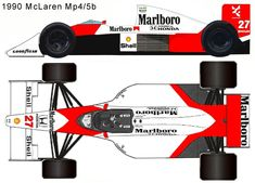 1990 McLaren Mp4/5b