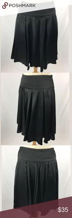 Cache skirt SKU: SD15609  Waist: 32 Fabric Content: 100% polyester Skirt Length: 21.25 Lining Fabric: 100% polyester Cache Skirts