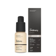 The Ordinary Colours Serum Foundation is a medium cover foundation with a lightweight feel that blends easily and looks amazingly natural on skin. Best Cheap Foundation, The Ordinary Coverage Foundation, Foundation Dupes, Natural Foundation, Foundation Colors, No Foundation Makeup, Natural Skin, Sheer Foundation, Make Up