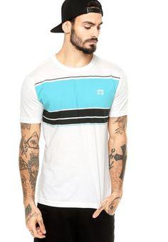 Camiseta Manga Curta Hang Loose Stripe Off-White - Marca Hang Loose