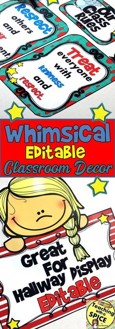 Homemade recipes to have perfect armpits you will not regret want an editable whimsical classroom decor with everything you need to decorate and get your room spiritdancerdesigns Choice Image