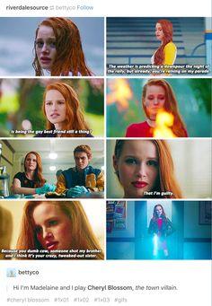 #Riverdale #Cheryl