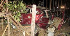 Medeiros Neto - Mulher morre em acidente com carro que levava urnas eleitrônicas
