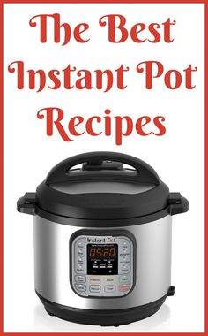 It takes a little getting used to the way the Instant Pot cooks, and it really helps to have a couple recipes to go off of before trying to use it to make your own recipes. I highly suggest grabbing a cookbook, and I've rounded up the Best Instant Pot Cookbooks.