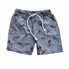 Loose Summer Shorts for Boys - Best Fashions for All Work Shorts, Kids Shorts, Summer Shorts, Summer Baby, Summer Kids, Monokini, Bermuda Short, Baby Boy Outfits, Kids Outfits